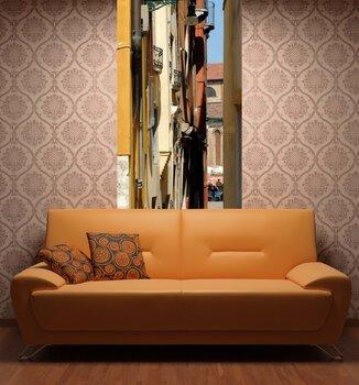 Фотообои на стену Аллея с вазами для цветов, Спелло