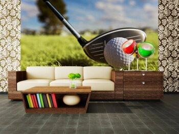 Фотообои Игра в гольф