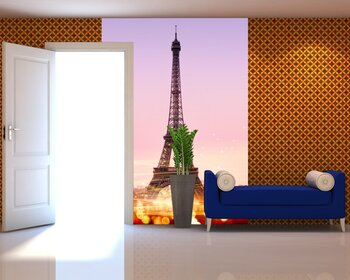 Фотообои на стену Париж. Сена