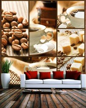 Фотообои на стену Коллаж кофе