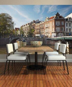 Фотообои на стену Amsterdam panorama, Holland, Netherlands