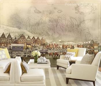 Фотообои на стену Канал Сент-Проли (Венеция)