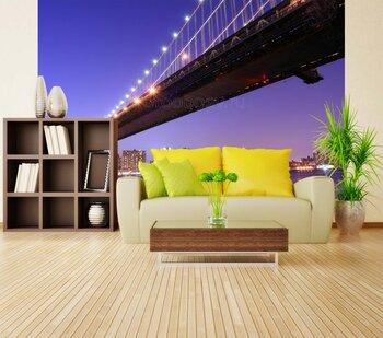 Фотообои на стену Бруклинский мост. Нью-Йорк