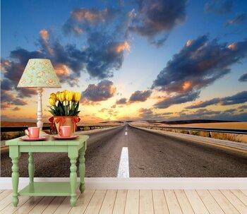 Фотообои Дорога в пустыне