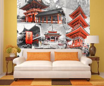 Фотообои Красочная Япония