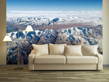 Фотообои Горы под снегом зимой