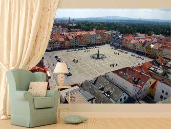 Фотообои на стену Прага. Вгляд из-под облаков