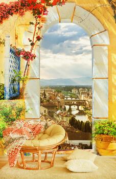 Фотообои Пейзаж Флоренции