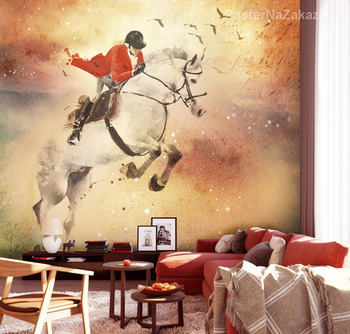 Фотообои Верховная езда
