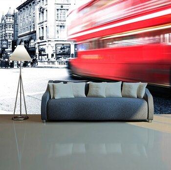 Фотообои на стену Лондонский автобус