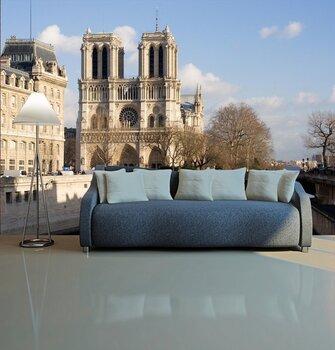 Фотообои на стену Париж рассматривает от дуги триумфа