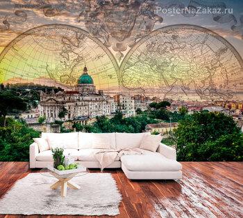 Фотообои Город Неаполь