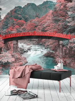 Фотообои Японский парк