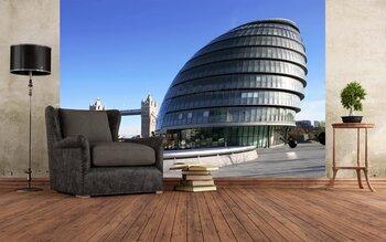Фотообои на стену Солнечный обзор Лондонского Тауэра