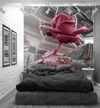 Фотообои на стену Белая роза