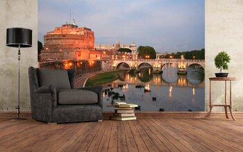 Фотообои Рим в заходящих лучах солнца