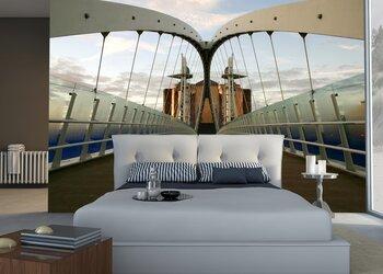 Фотообои Мост тысячелетия. Манчестер