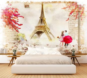 Фотообои Романтика Франции