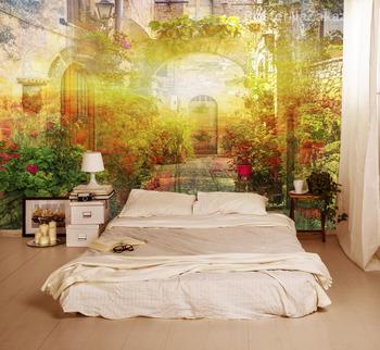 Фотообои на стену Кеды на стене