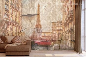 Фотообои  Маленькая улица Парижа