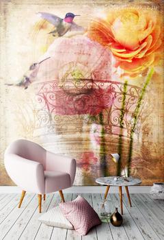 Фотообои Цветочный балкон
