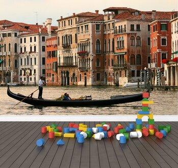 Фотообои на стену Италия. Венеция. Гандолы