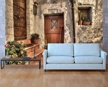 Фотообои  Старинный дом. Вентимилья, Италия.