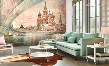 Фотообои Москва. Красная площадь