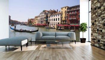 Фотообои на стену Венеция, Италия. Водное такси