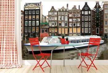Фотообои Водный канал в Амстердаме