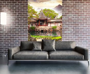 Фотообои на стену Восточный сад