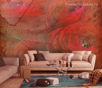 Фотообои на стену Африканские рисунки