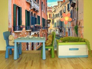Фотообои Маленький канал,Венеция,Италия