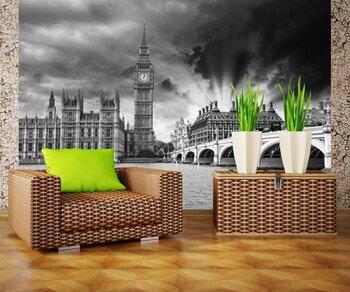 Фотообои Лондон. Красивый вид на Вестминстерский мост