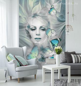 Фотообои Волшебные бабочки