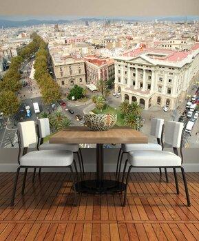 Фотообои Вид сверху. Барселона