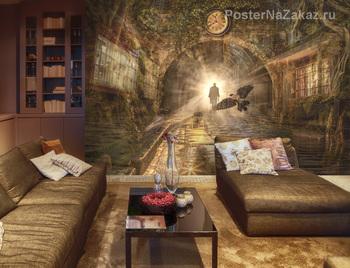 Фотообои Сказочный тоннель
