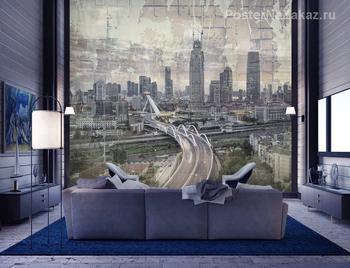 Фотообои Город в сумерках