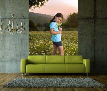 Фотообои на стену Девочка. Фотообои для подростка