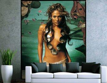 Фотообои на стену Красивая женщина с конем