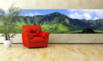 Фотообои Пейзаж для интерьера с видом на горы