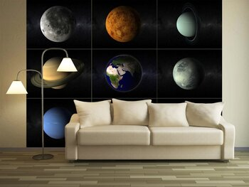 Фотообои Planets collage