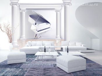 Фотообои 3D Пианино