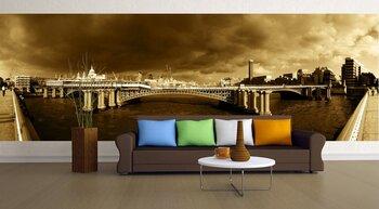 Фотообои на стену ьнский собор и мост Гогенцоллернов, Германия