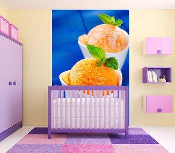 Фотообои Апельсиновое мороженое
