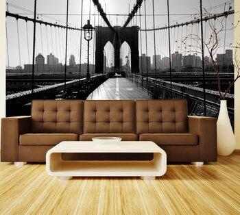 Фотообои Бруклинский мост, Манхэттен, Нью-Йорк, США