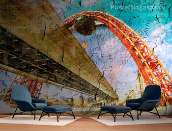 Фотообои Арочный мост