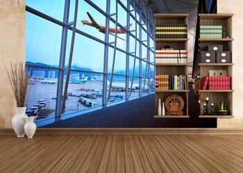 Фотообои Аэропорт Гонконга