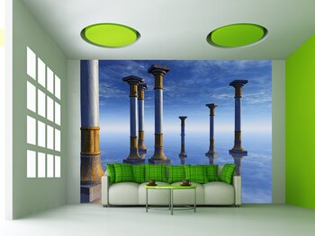 Фотообои на стену Диско шар