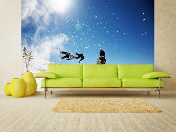 Фотообои на стену Воздушный шар в небе